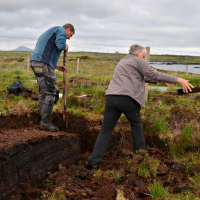 In the Outer Hebrides, a MacPhee Tutorial in Peat