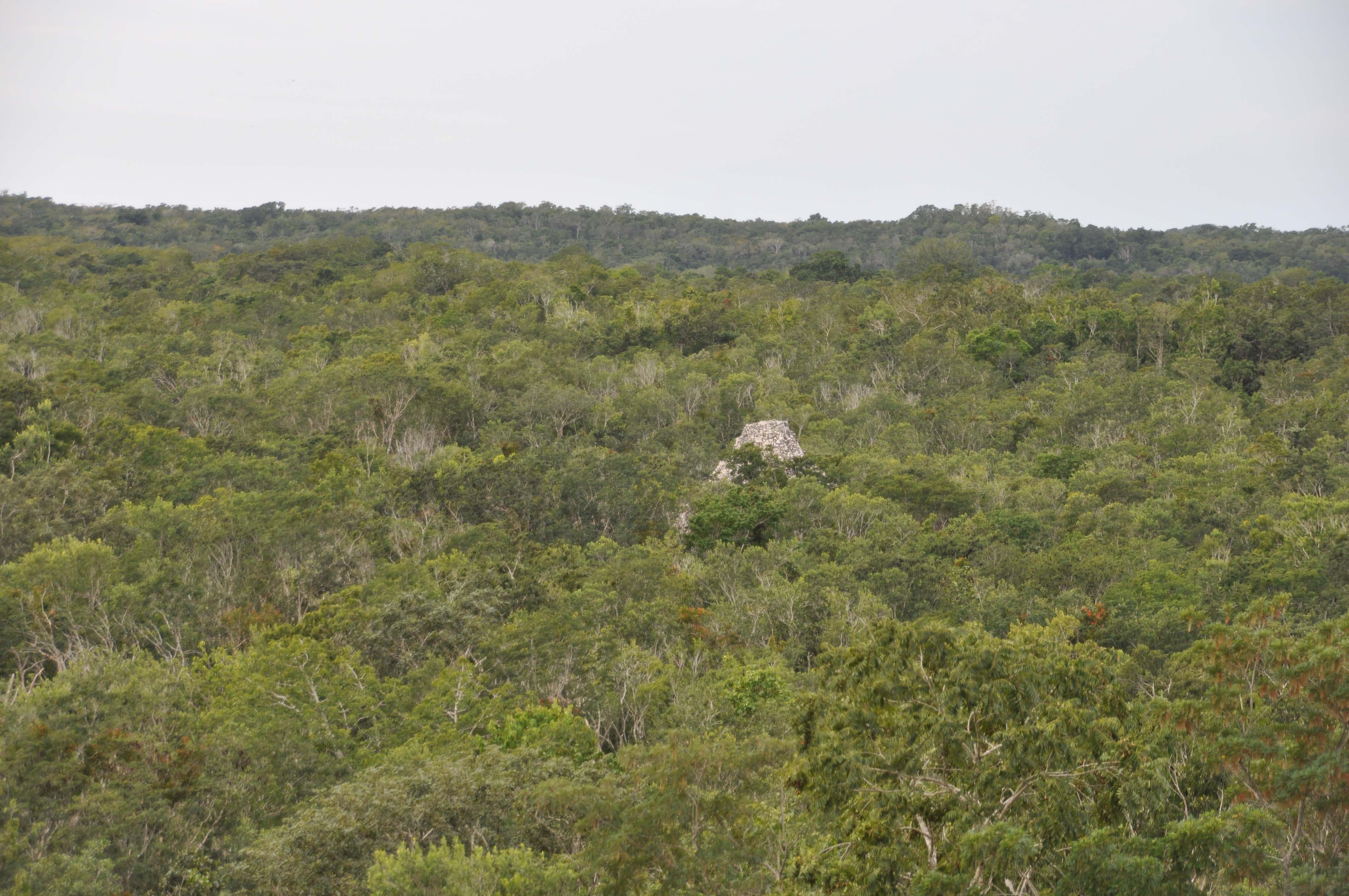 Nohoch Mul temple Coba