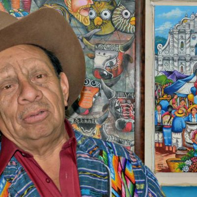 Interview with Artist Oscar Peren of San Juan Comalapa School of Naive Painters in Guatemala