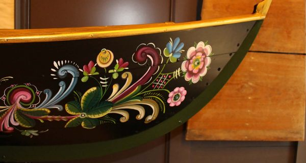 "Norwegian Rosemaling Tradition is a ""Painted Language"""