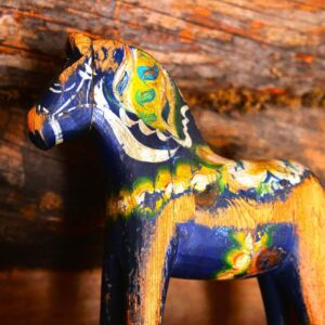 Sweden's Love Affair with Horses: The Swedish Dala Horse or Dalahäst Horse