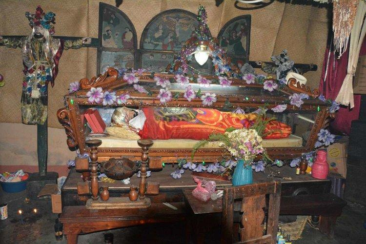 The Tz'utuhil religion blends Mayan and Catholic traditions in a practice known as syncretism