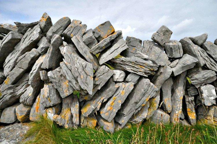 Stone wall Inis Mor Ireland