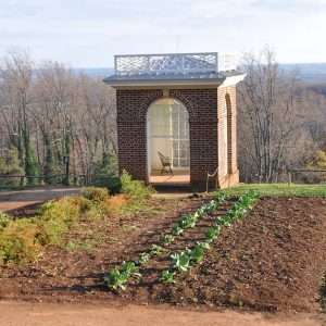 "Monticello Gardens: Jefferson's ""Temple"" is a Relaxing Retreat"