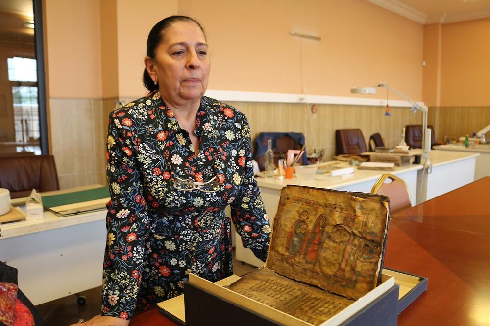Armenian culture | Dr. Gayane Eliazyan, head of the Matenadaran manuscript conservation department
