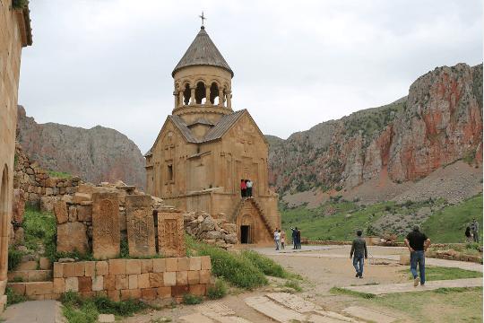 Stunning Noravank Monastery was designed by 13th-century monk Momik