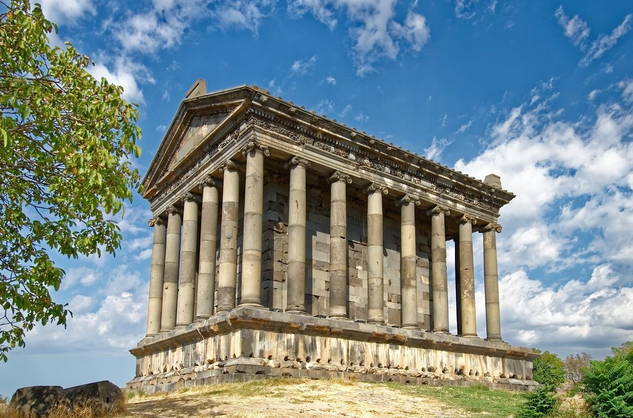 Armenian culture | Garni Temple of Armenia.