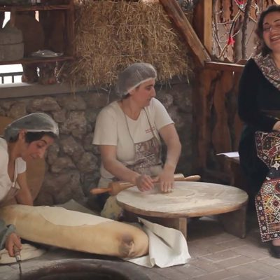 Making Lavash! The Folk Song that is an Ode to Armenian Bread