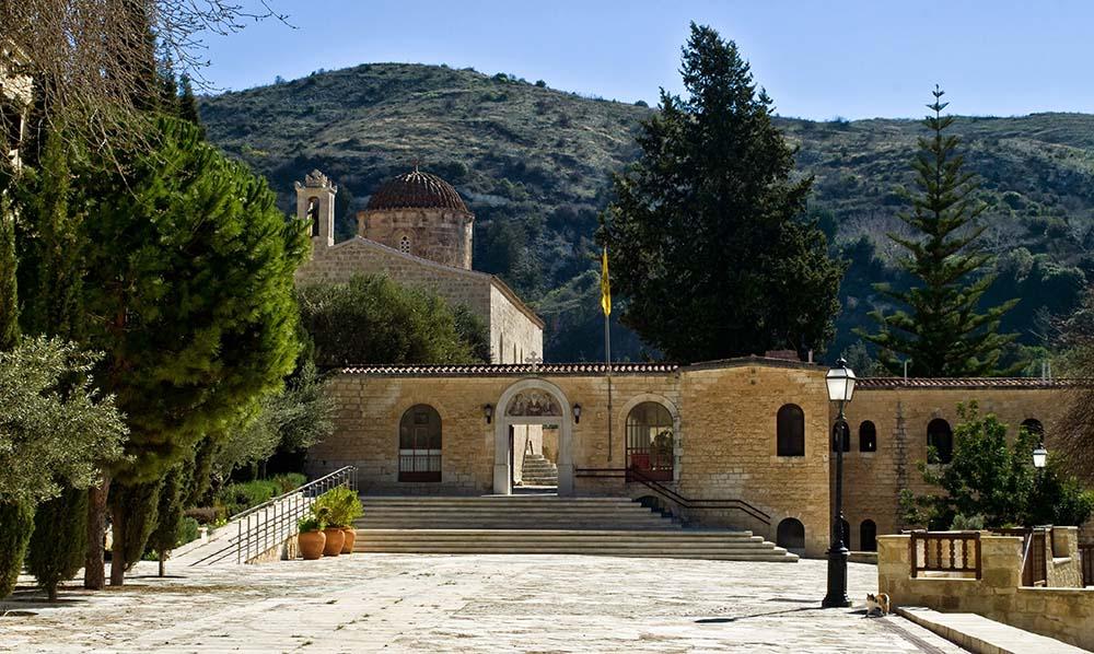 Agios Neophytos Monastery Cyprus