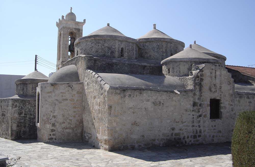 Byzantine church in Yeroskipos