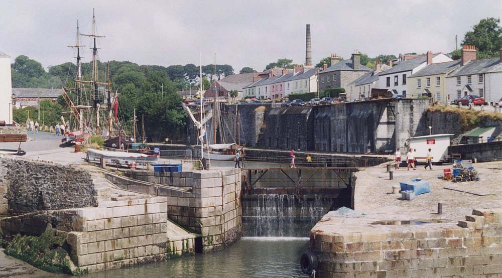 Charlestown Harbour - Charlestown Shipwreck and Heritage Centre Cornwall