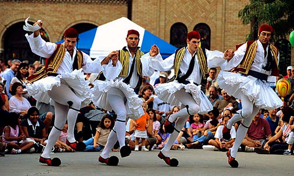 Kalamatianos Dancers