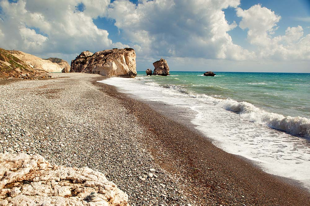 Petra Tou Romiou Beach - Cyprus Itinerary