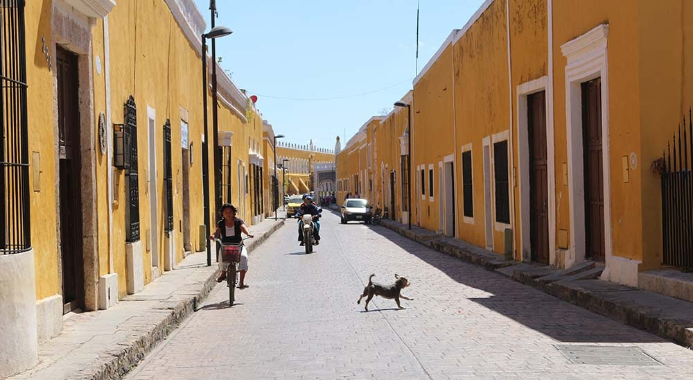 The yellow city of Izamal