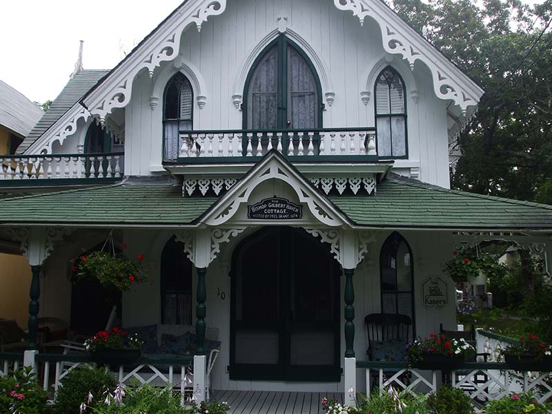 Marthas Vineyard Gingerbread Houses