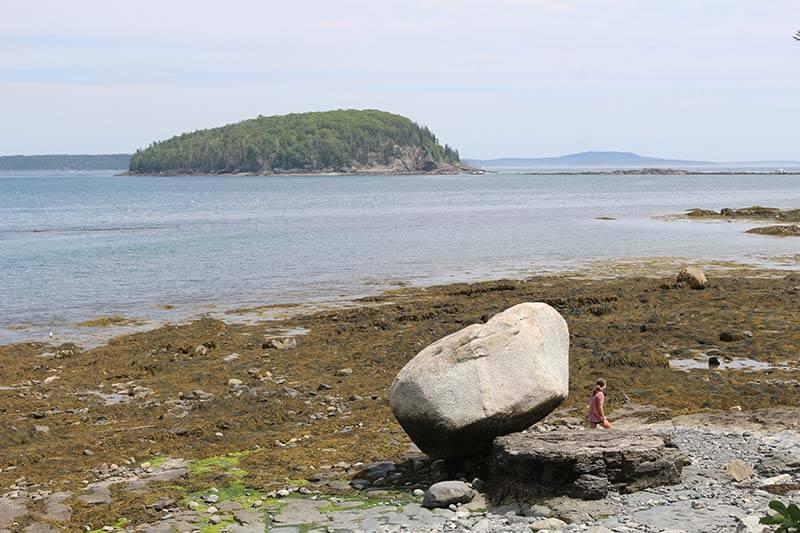 Balance Rock Bar Harbor