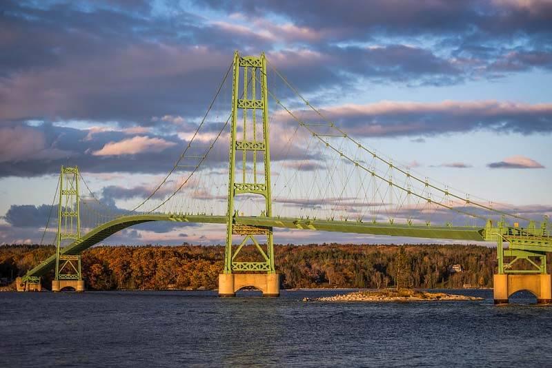 Best Things To Do in Maine | Deer Isle Bridge