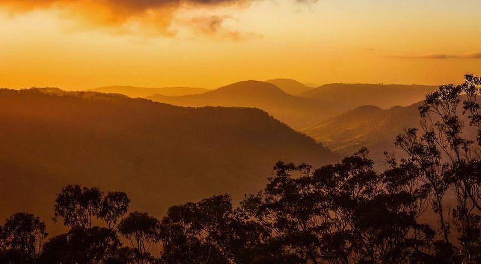 The Golden Hour' at Binna Burra's Coomera Terrace. Photo: Binna Burra Lodge