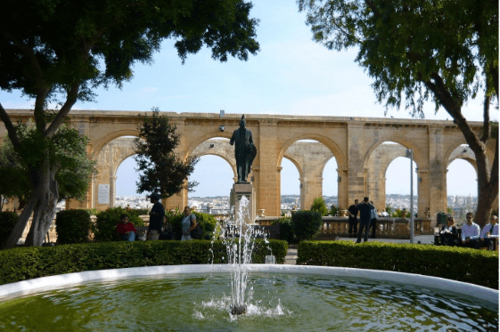 Best Things To Do in Malta | Upper Barrakka Gardens