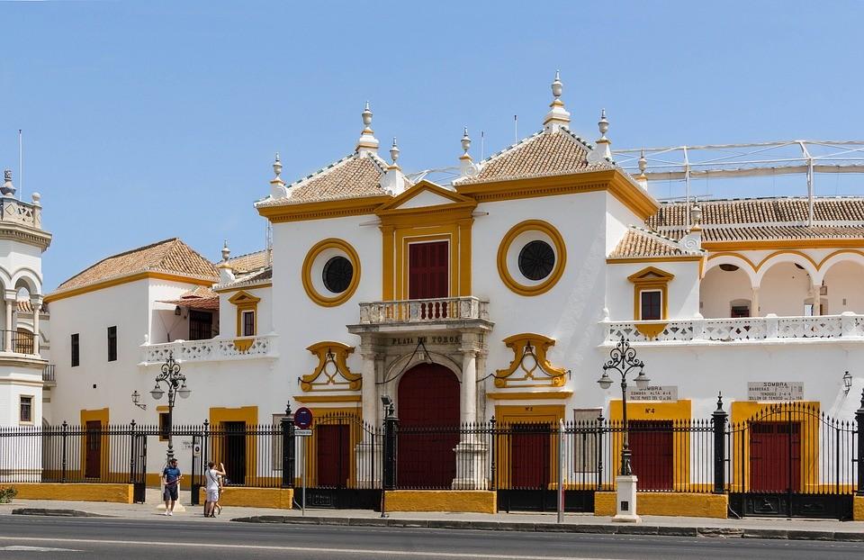 Seville Spain Bullring Entrance