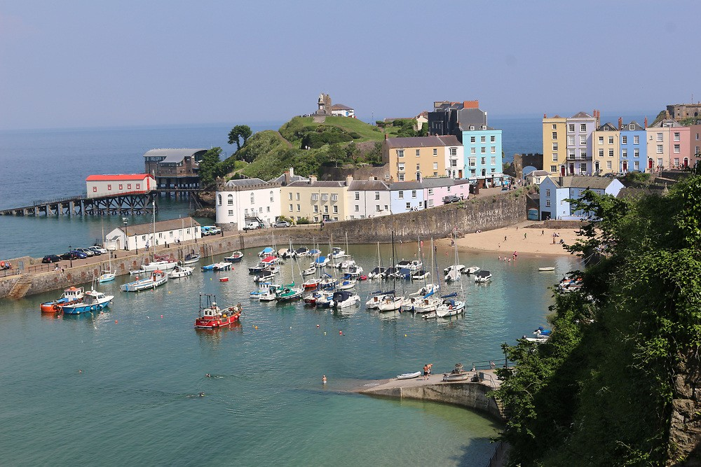 Best Things To Do in Pembrokeshire | Tenby harbor