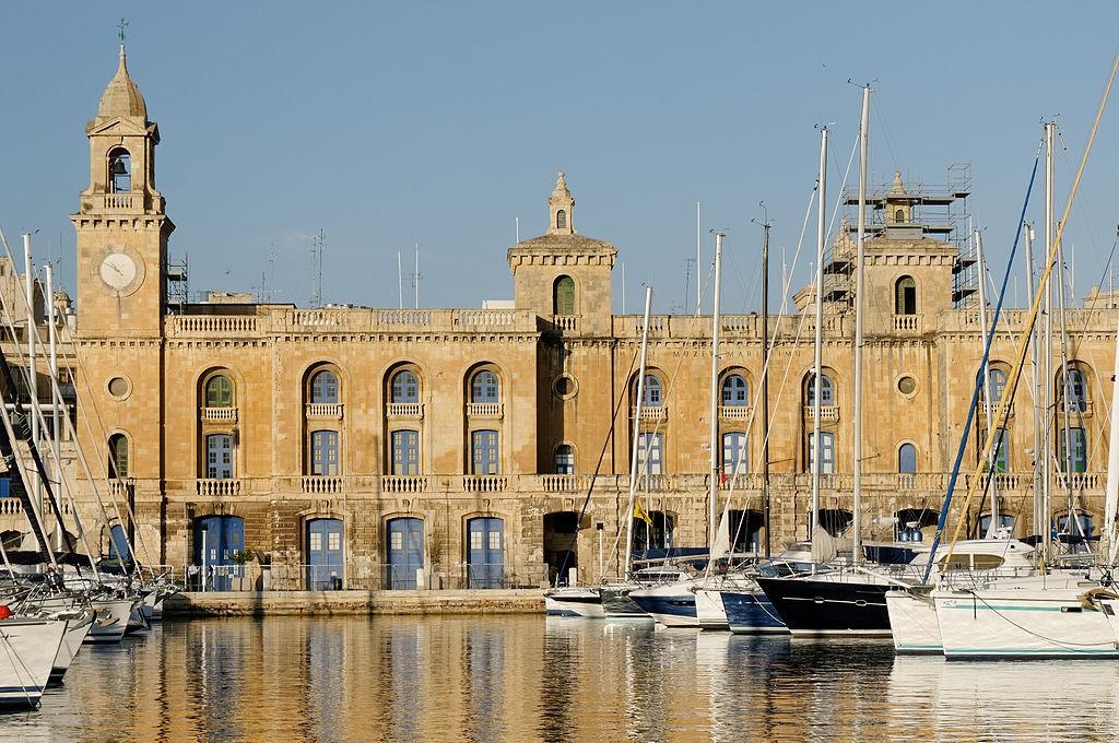 Best Things To Do in Malta | Malta Maritime Museum from Senglea