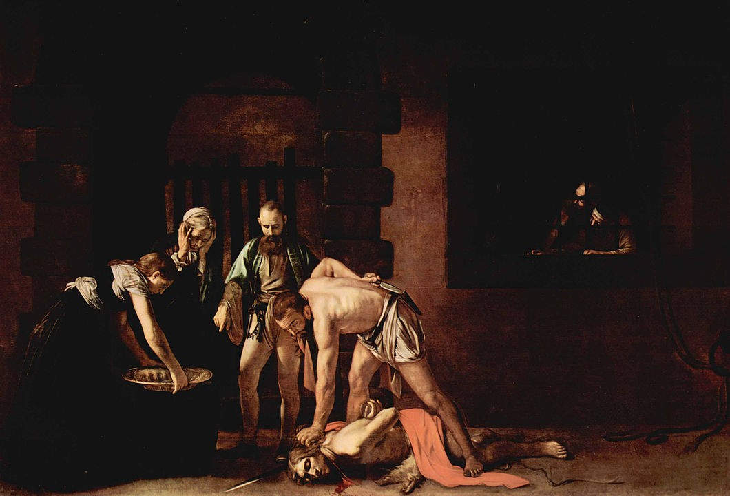 Best Things To Do in Malta | The Beheading of Saint John the Baptist, 1608. Oil on canvas, 361 x 520 cm. Oratory of the Co-Cathedral.