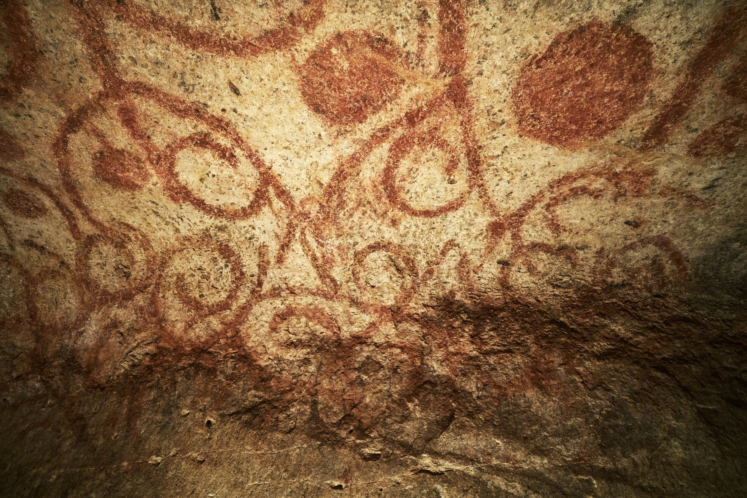 Best Things To Do in Malta | The mysterious red ochre painting of the Ħal Saflieni Hypogeum's Oracle room. Photo: Heritage Malta