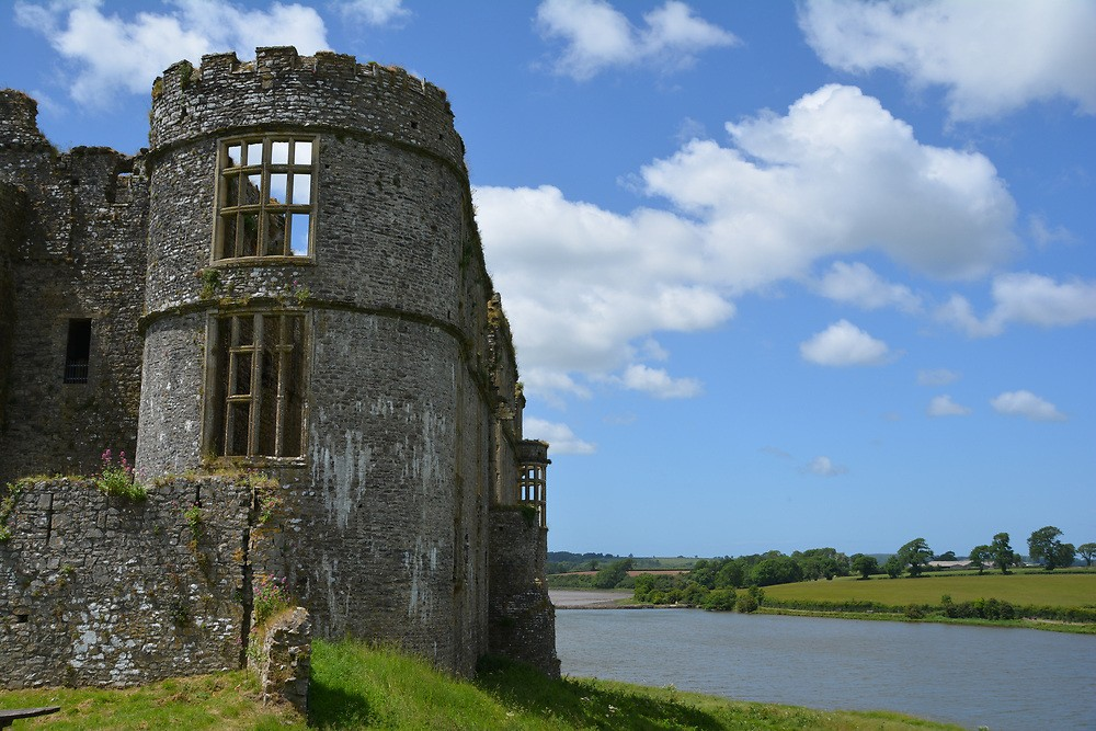 Best Things To Do in Pembrokeshire | View of Carew Castle and mill pond