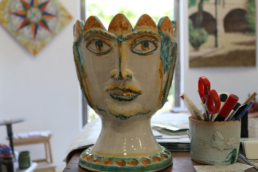 One of ceramacist Marco Monforte's creations.