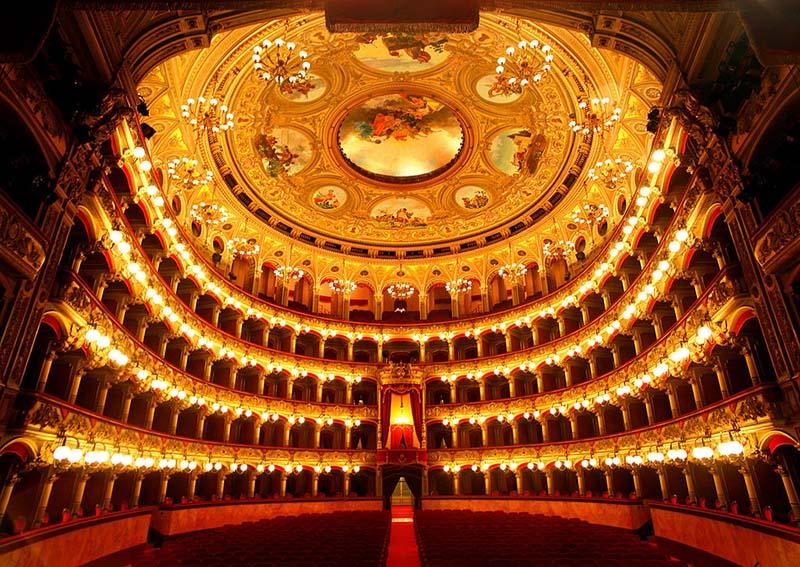 Catania Teatro Bellini Interno