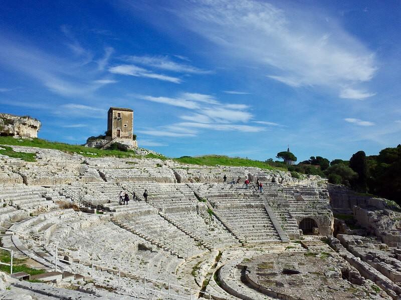 Latomia del Paradiso Amphitheater