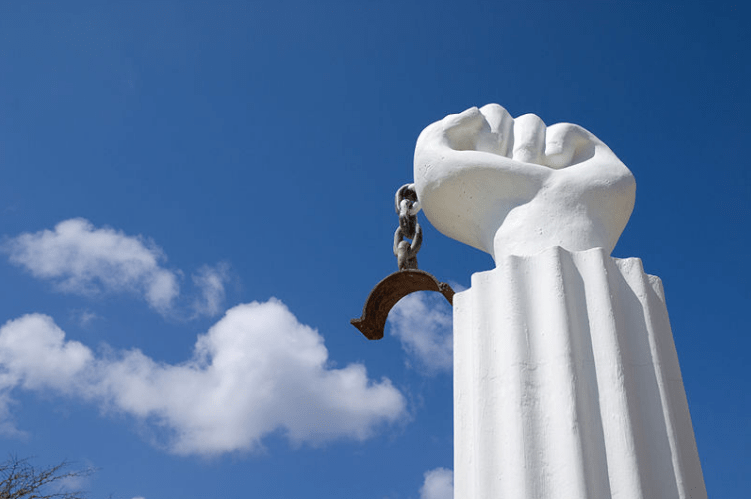 Monument to 1795 Slave Revolt, Curaçao