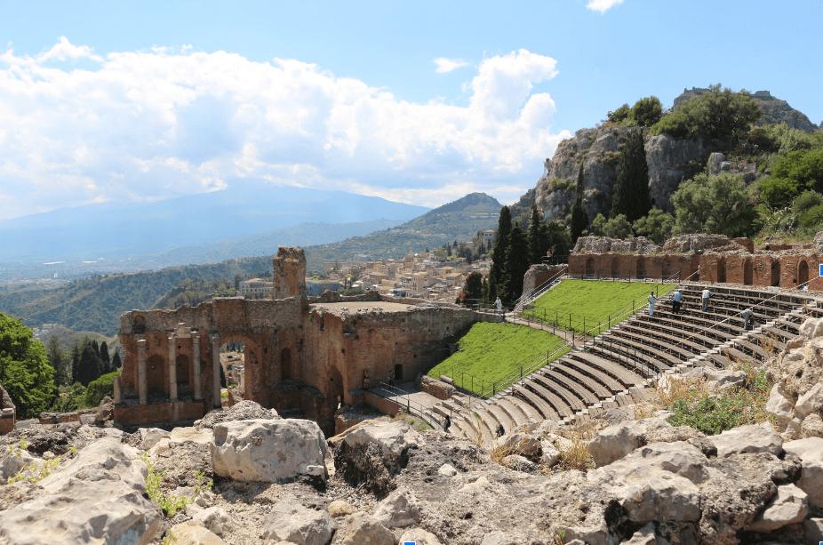 Best Things To Do in Sicily | Teatro Antico di Taormina Amphitheater in Taormina