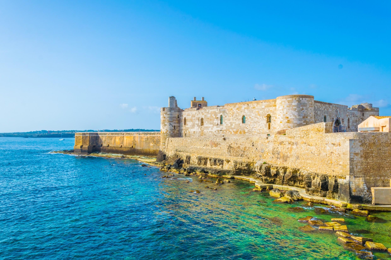 Castello Maniace in Ortygia, Sicily.