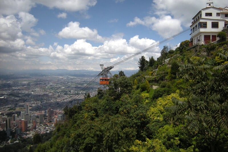 Montanha Monserrate, Bogotá