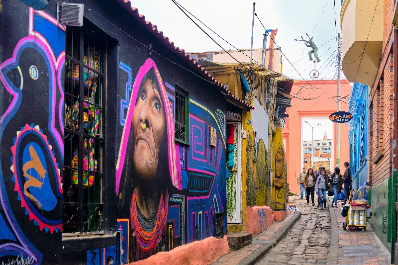 Best Things To Do In Bogota | La Candelaria street art